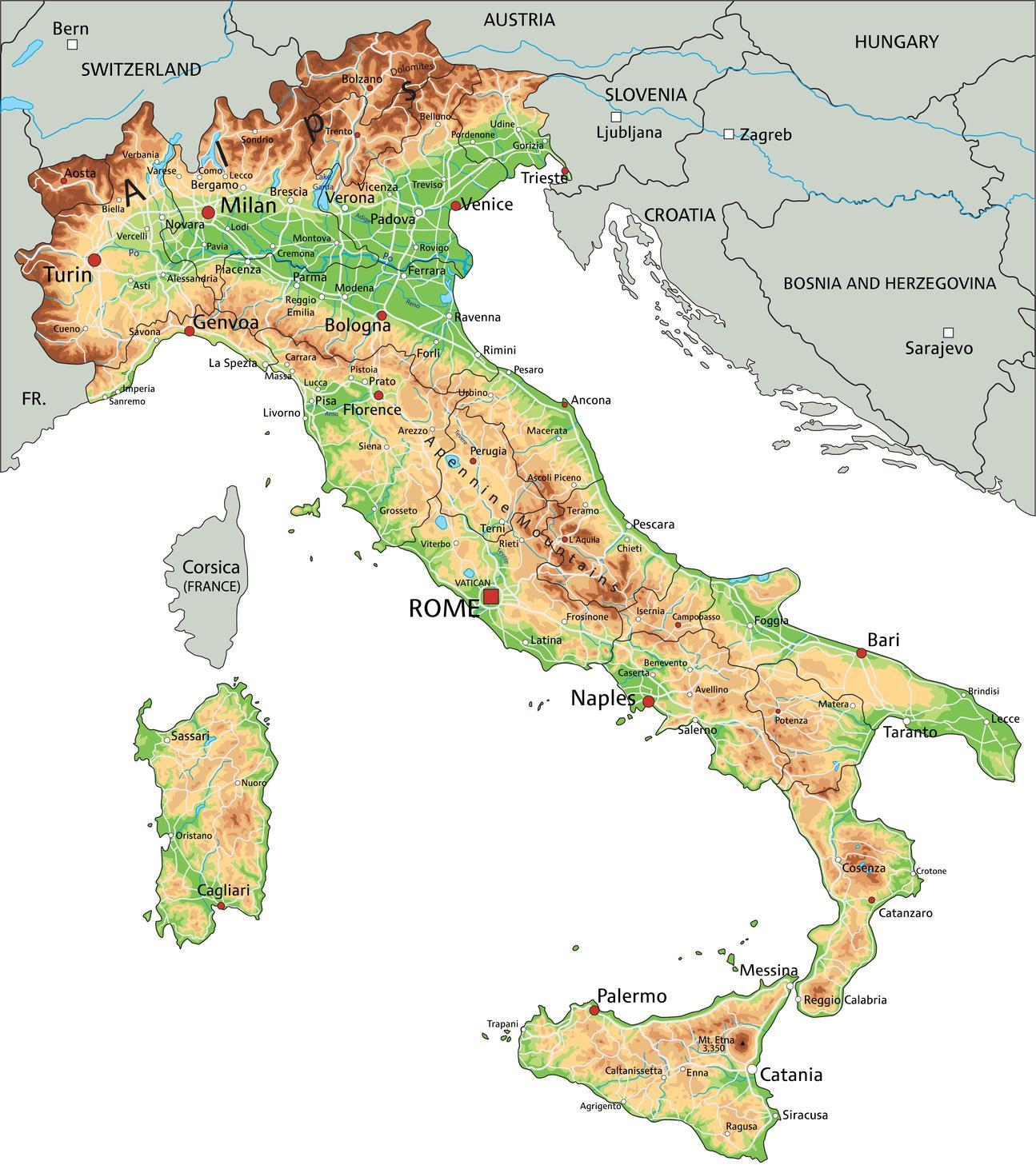 Rom Napoli Kort Kort Rom Napoli Lazio Italien