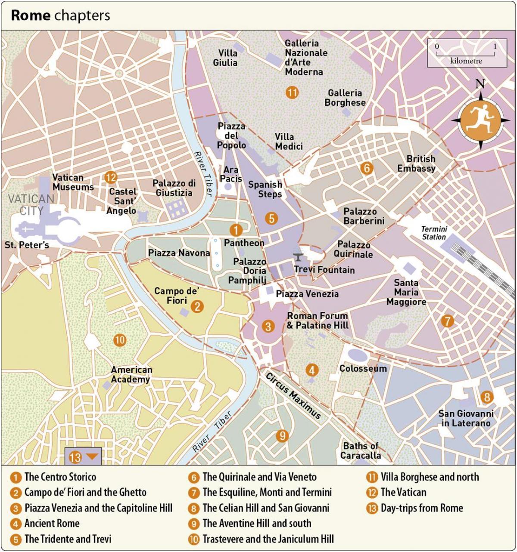 Kort Over Vatikanmuseet Og Det Sixtinske Kapel Vatikanet Indgang