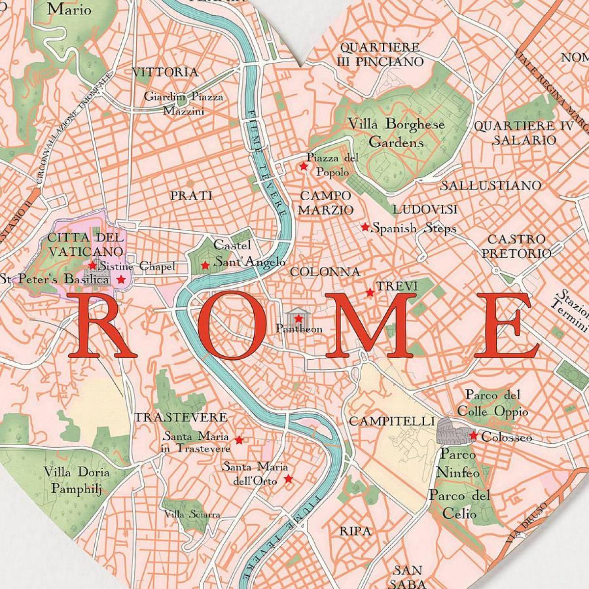 Rom Kort App Kort Over Rom App Lazio Italien