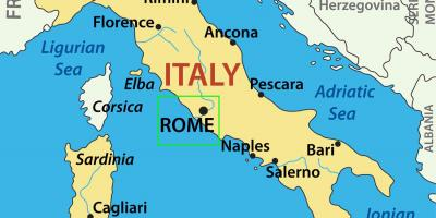 Rom Kort Kort Rom Lazio Italien